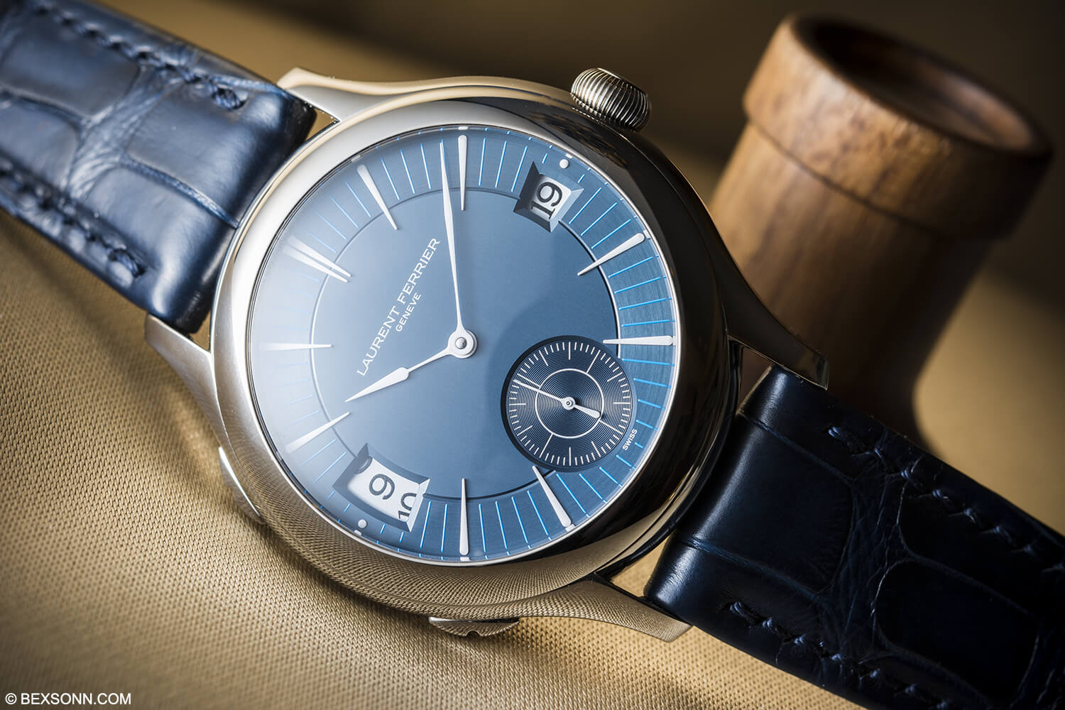Laurent Ferrier Gallet Traveller Blue Dial
