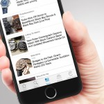 New: Watch news in the Chrono24 iPhone app