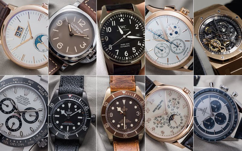 Top 10 Watches from SIHH & Baselworld