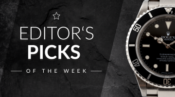Editor's Picks of the Week: Doxa Sub 750T, Greubel Forsey Invention Piece 3, Heuer Carrera Re-Edition
