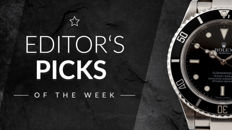 Editor's Picks of the Week: TAG Heuer Carrera Calibre 16 Chronograph, Omega Speedmaster CK 2998-62, Rolex Explorer Ref. 114270