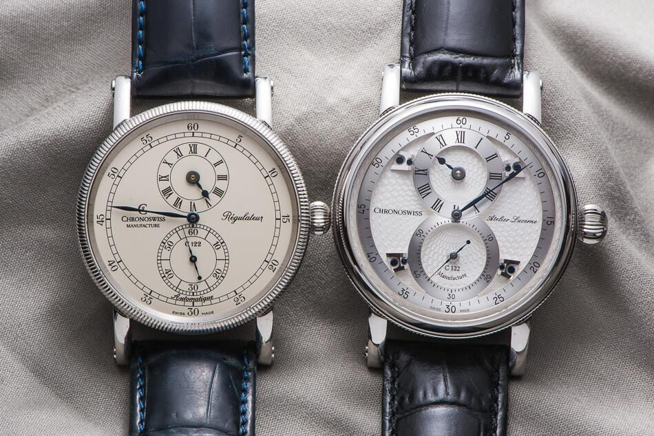 Chronoswiss Regulateur and Flying Regulateur