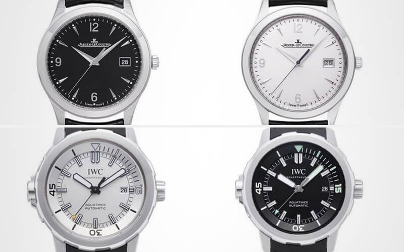 Watch Pairs Jaeger-LeCoultre Master Date and IWC Aquatimer