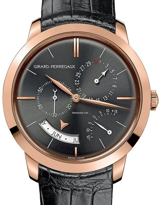 Girard Perregaux 1966 Annual Calendar with Equation Of Time