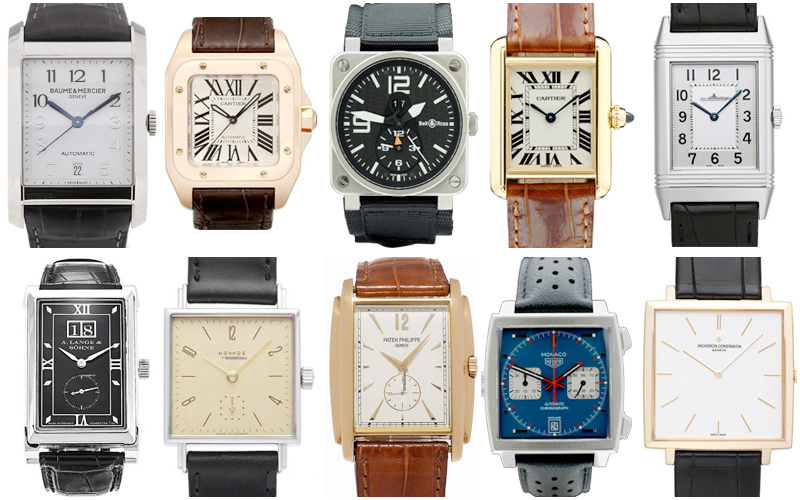 Top 10 Rectangular Watches
