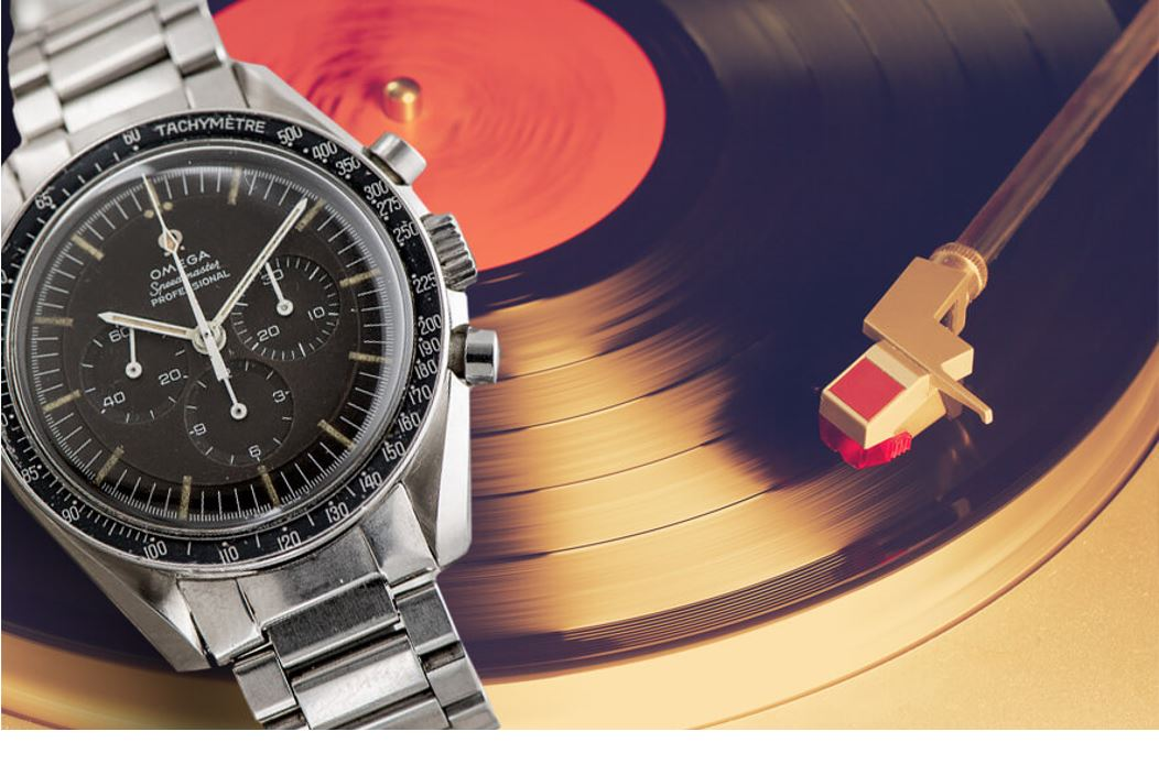 Vinyl records and mechanical watches teaser